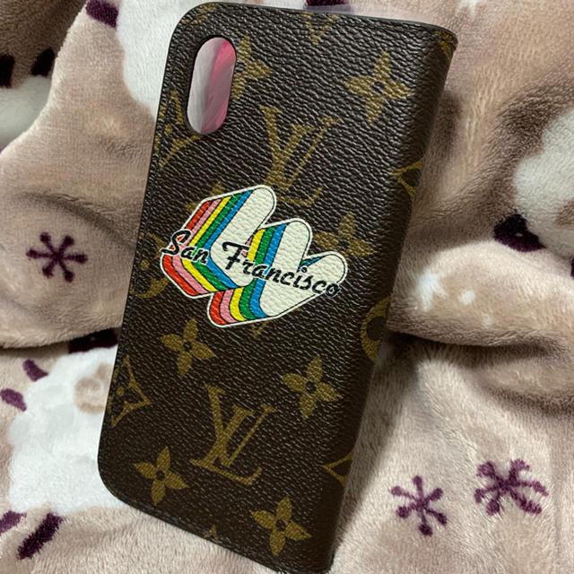 LOUIS VUITTON - 希少⭐ルイヴィトン モノグラム iPhone X XS 携帯 ケースの通販
