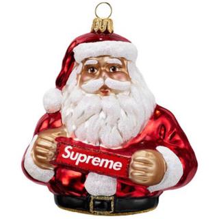 シュプリーム(Supreme)のSupreme Santa Ornament red(置物)