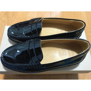 ラシット(Russet)のラシット russet エナメル 黒 ローファー(ローファー/革靴)