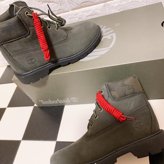 Timberland(ティンバーランド)の新品♡ハイカット ブーツ zara DIESEL ドクターマーチン  キッズ/ベビー/マタニティのキッズ靴/シューズ(15cm~)(ブーツ)の商品写真