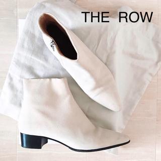 バーニーズニューヨーク(BARNEYS NEW YORK)の専用【THE ROW】ショートブーツ 美品 36 1/2 確実正規品(ブーツ)