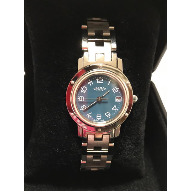 ジン偽物芸能人も大注目 | Hermes - HERMES エルメス クリッパー 腕時計 レディースCL4.210の通販 by ウーパーコ's shop