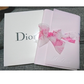 Dior - MISS DIOR ミスディオール 手帳 ノート