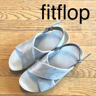 fitflop - フィットフロップ FitFlop サンダル シルバー 5