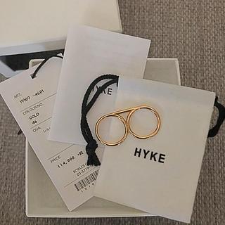 ハイク(HYKE)のHIKE ☆ ダブル リング(リング(指輪))