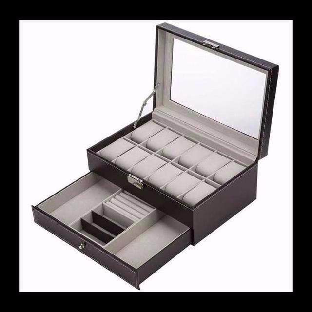 タグ ホイヤー カレラ グレー / 腕時計収納ケース 12本 ロレックス クロノグラフ  ¥3,690  商品説明 の通販 by らら's shop