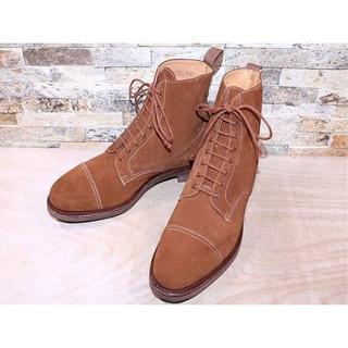 コールハーン(Cole Haan)のビックサイズ コールハール アンクルブーツ スエード茶 3030,5cm(ブーツ)