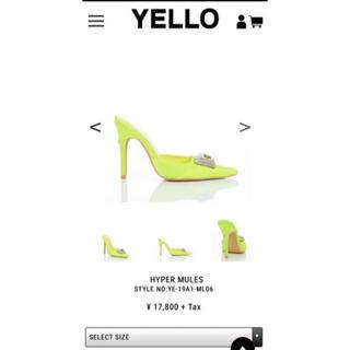 イエローブーツ(Yellow boots)のYello キラキラパンプス ミュール(ハイヒール/パンプス)