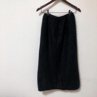 ハイク(HYKE)のFully Fashion ロングスカート ブラック(ロングスカート)