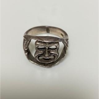 ビームス(BEAMS)のツーフェイス リング ヴィンテージ シルバー 925(リング(指輪))