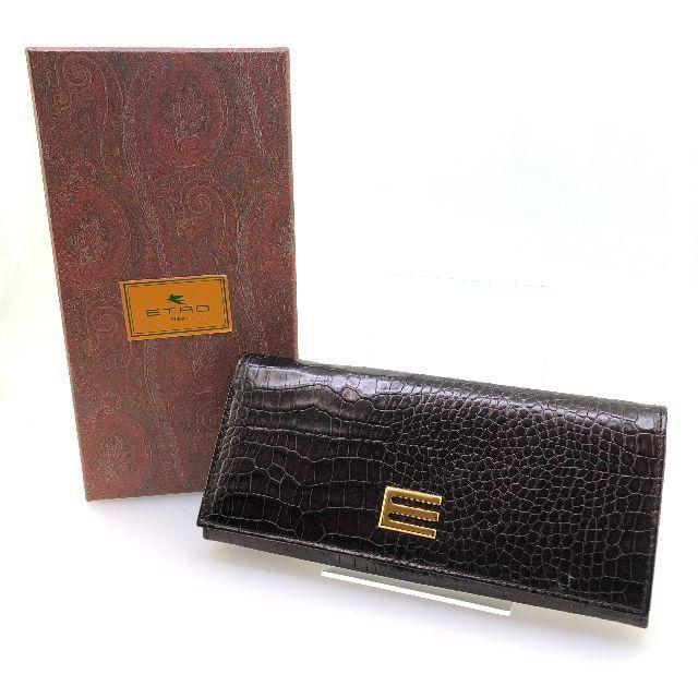 ジェイコブ コピー 爆安通販 | ETRO - 【ETRO】エトロ 長財布 2つ折財布 クロコ型押し グレージュの通販 by クロネコ's SHOP