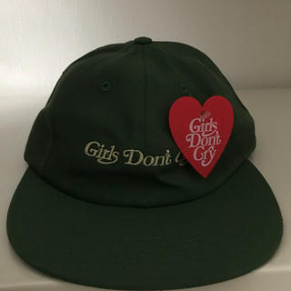 Girls Don't Cry CAP GREEN(キャップ)