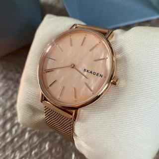 スカーゲン(SKAGEN)のSKAGEN signatur slim rose tone 未使用品(腕時計)