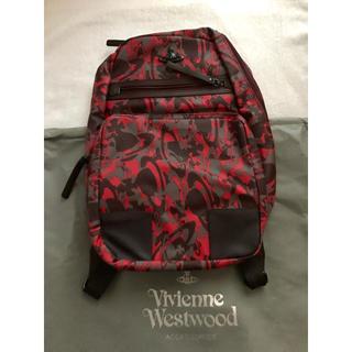 ヴィヴィアンウエストウッド(Vivienne Westwood)のヴィヴィアン ウエストウッド  リュックサック バックパック レッド(バッグパック/リュック)