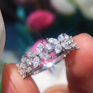 特価ホワイトダイヤモンドリング(リング(指輪))