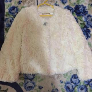 リュクスローズ(Luxe Rose)の美品、リュクスローズ、ファージャケット(毛皮/ファーコート)