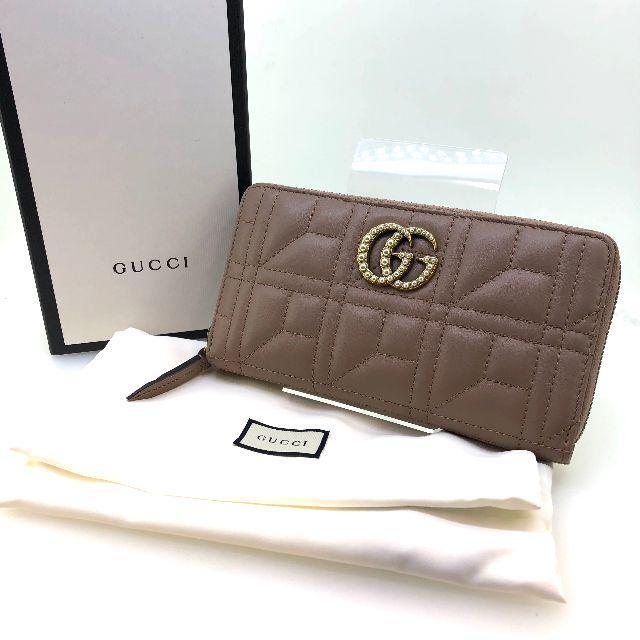 Gucci - 【GUCCI】グッチ GGマーモント ジップアラウンドウォレット 443123の通販 by クロネコ's SHOP