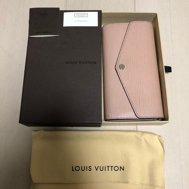 gucci 財布 メンズ スーパーコピー 時計 、 LOUIS VUITTON - 美品 正規品 Louis Vuitton エピ 長財布 ピンクの通販 by ☆エクレア☆プロフ必読