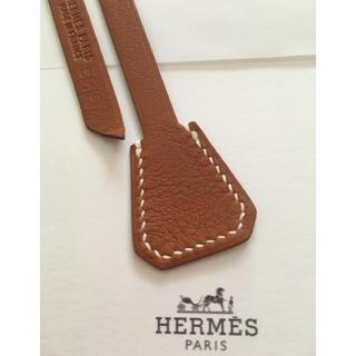 エルメス(Hermes)のHERMES エルメス ブックマーク 栞 クロシェット型(しおり/ステッカー)