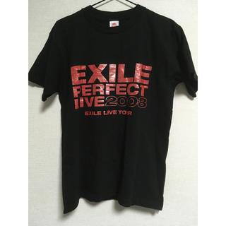 エグザイル(EXILE)のEXILE ライブ ツアー Tシャツ 2008 PERFECT LIVE 黒 M(Tシャツ(半袖/袖なし))