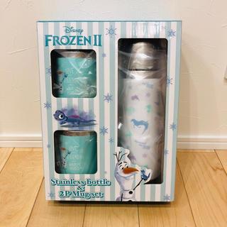 アナトユキノジョオウ(アナと雪の女王)のアナと雪の女王 ステンレスボトル+2Pマグセット(水筒)