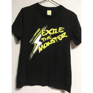 エグザイル(EXILE)のEXILE ライブ ツアー Tシャツ 2009 THE MONSTER 黒 S(Tシャツ(半袖/袖なし))
