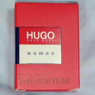 ヒューゴボス(HUGO BOSS)のヒューゴウーマンEDT.B 5ml 香水未開封新品(香水(女性用))