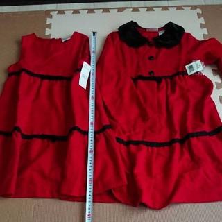 コストコ(コストコ)のワンピース 上着 セット コストコ 100 110 美品 未使用 (ワンピース)