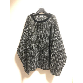 トゥモローランド(TOMORROWLAND)のblue work tomorro wland hand knit(ニット/セーター)