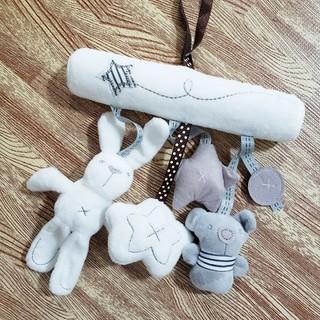 赤ちゃん玩具⭐ベビーカートイ (オルゴールメリー/モービル)