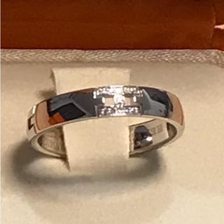 エルメス(Hermes)のエルメス ダイヤ11P ヘラクレス リング 9号 WG 指輪(リング(指輪))