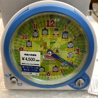 セイコー(SEIKO)のセイコー SEIKO 目覚まし時計 置き時計 CQ157W きかんしゃトーマス(置時計)