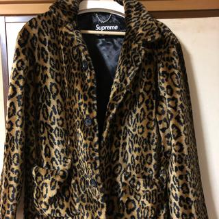 シュプリーム(Supreme)のsupreme leopard ファーコート 16ss(毛皮/ファーコート)