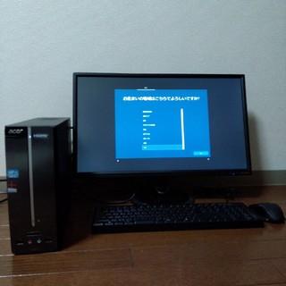 エイサー(Acer)のエイサー Aspire X AXC600-F54D(デスクトップ型PC)