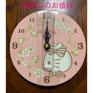 ハローキティ(ハローキティ)のハローキティ 壁掛け時計(掛時計/柱時計)