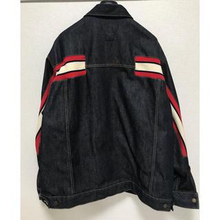 ファセッタズム(FACETASM)のfacetasm rib denim jacket (Gジャン/デニムジャケット)
