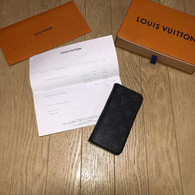 LOUIS VUITTON - iPhoneX&XSケース ルイヴィトン  モノグラム 1/3 まで限定値下げ!の通販