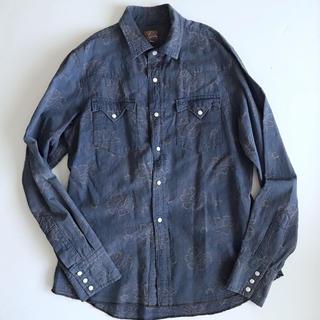 エンジニアードガーメンツ(Engineered Garments)の美品 エンジにアードガーメンツ ウエスタンシャツ メンズSサイズ(シャツ)