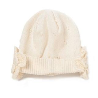 センスオブワンダー(sense of wonder)の【新品】オーガニックコットン ニット帽 センスオブワンダー(帽子)