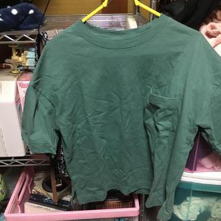 ジーユー(GU)のGUシンプルTシャツ(Tシャツ(半袖/袖なし))