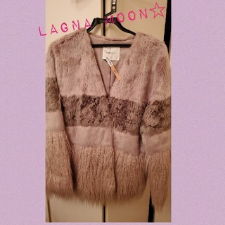 ラグナムーン(LagunaMoon)のlaguna moon☆ エコミックスファーコート♡(毛皮/ファーコート)