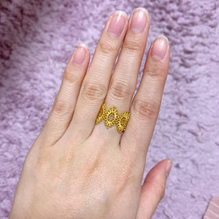 ミラオーウェン(Mila Owen)の新品おしゃれレースリング(リング(指輪))