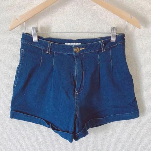 EMSEXCITE(エムズエキサイト)のショートパンツ デニム レディースのパンツ(ショートパンツ)の商品写真