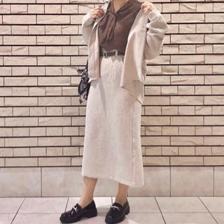 マジェスティックレゴン(MAJESTIC LEGON)のコーデュロイスカート(ロングスカート)