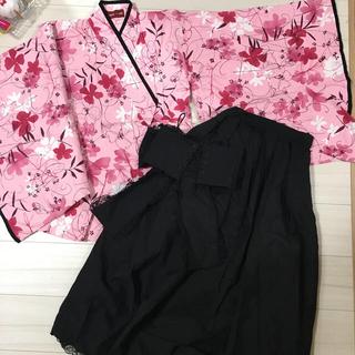 ボディライン(BODYLINE)のBODYLINE袴メイドゴス服(衣装)