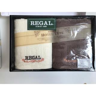 リーガル(REGAL)の*REGAL 新品未使用タオル2枚セット*(タオル/バス用品)