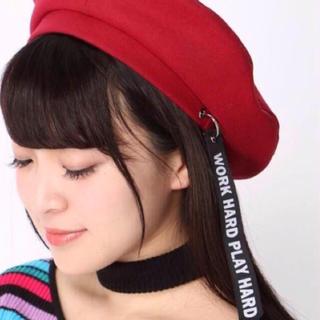 WEGO - WEGO リボンチャームベレー帽