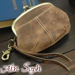アインソフ Ain Sophがま口財布