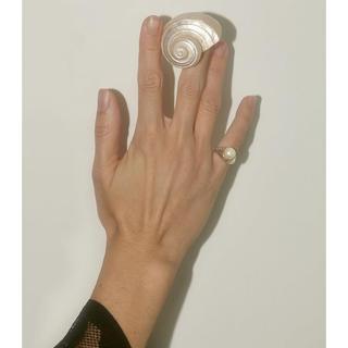 シンゾーン(Shinzone)の新品未使用♡hernán herdez pinky de perla リング (リング(指輪))