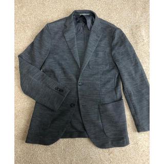 試着のみ!UNIQLOジャケット grey(テーラードジャケット)